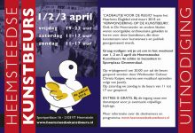 Heemsteedse Kunstbeurs 1, 2, 3 April