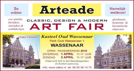 Beeldenvanjan dit paasweekend op Arteade in Wassenaar