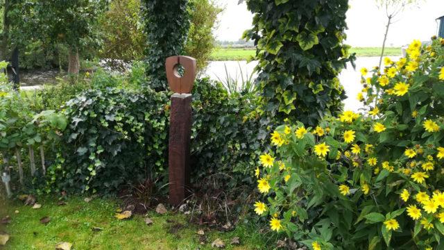 Beeld in tuin