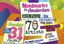 31 aug 2014 - Montmartre in Amsterdam